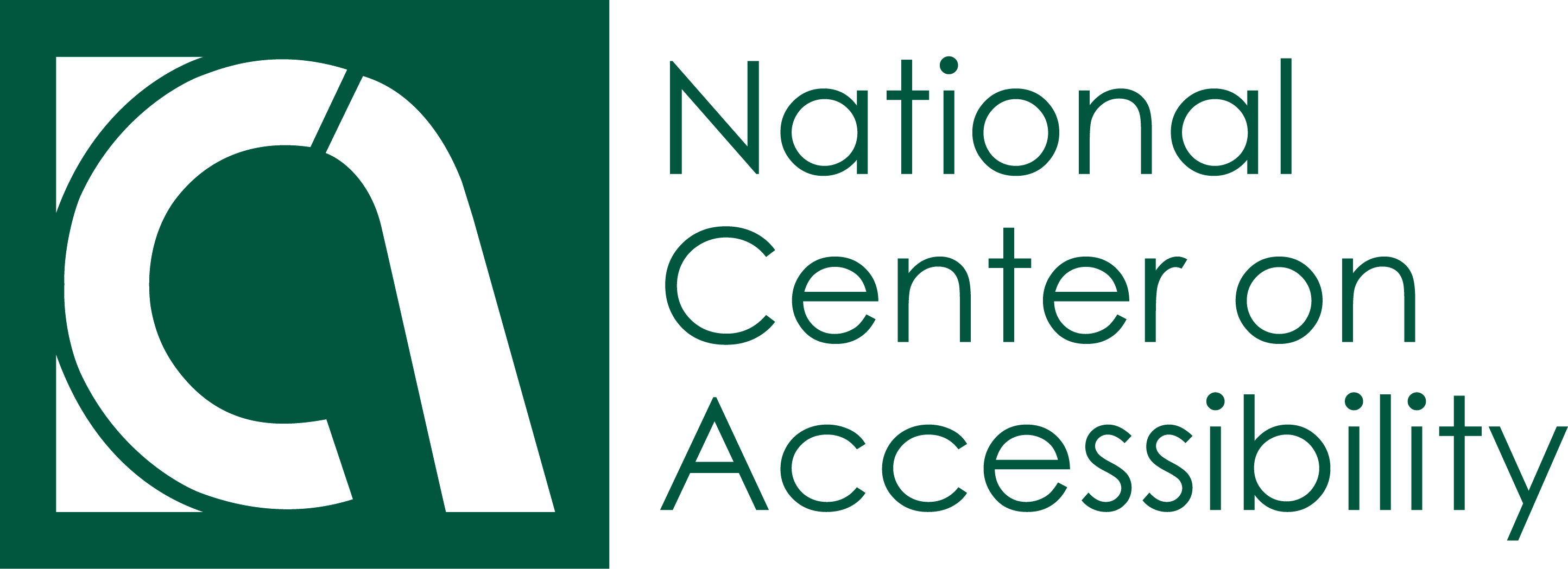 The National Center on Accessibility